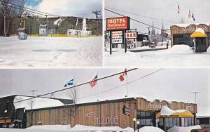 Hotel-Motel Bellevue , Ste.Anne de Beaupre , Quebec , Canada , 50-60s