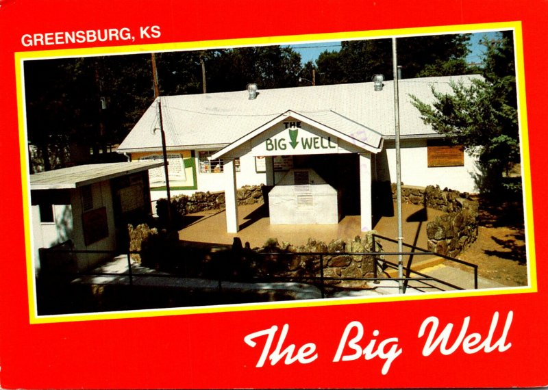 Kansas Greensbuurg The Big Well World's Largest Hand Dug Well 1989