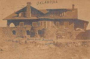 Norris Oklahoma Pawnee Bill's Bungalow Real Photo Antique Postcard J73837
