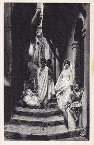 Stairs, Rue Arabe, ALGER, Algeria, Africa, 1910-1920s