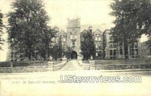 St. Bernards Seminary Rochester NY Postal Used Unknown