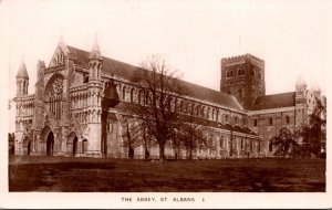 England St Albans The Abbey