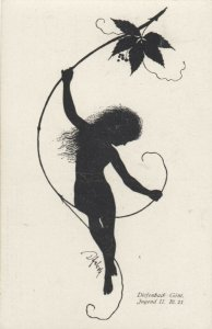 DIEFENBACH : Fantasy Silhouette , 00-10s ; Jugend II. Bl.21