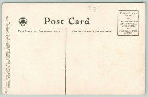 Seattle WA~Alaska-Yukon-Pacific Expo~Washington State Building~AYPE X14~Postcard