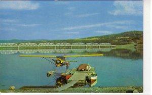 Nisutlin Bay Bridge, Teslin, Yukon, Canada  ! Float Bush Plane !