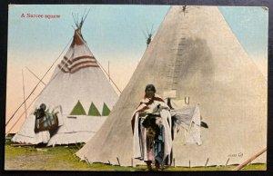 Mint Canada Picture Postcard Native American A Sarcee Squaw