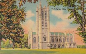 Connecticut Hartford The Chapel Trinity College 1941