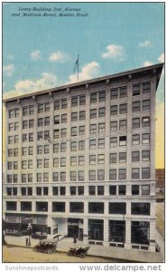 Leary Building 2nd Avenue And Madison Street Seattle Washington 1911