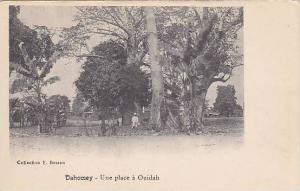 DAHOMEY . 00-10s ; Une place a Ouidah