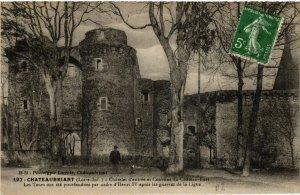 CPA CHATEAUBRIANT Chatelet d'entrée et Courtine du Chateau (587693)