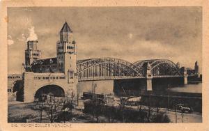 Koeln am Rhein Hohenzollernbruecke Bridge Pont