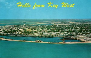 Florida Key West Aerial View