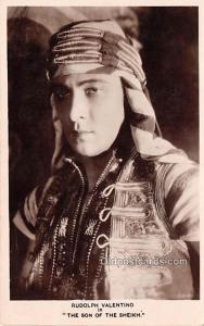 Rudolph Valentino in Son of the Sheik with Vilma Banky Movie Star Actor Actre...