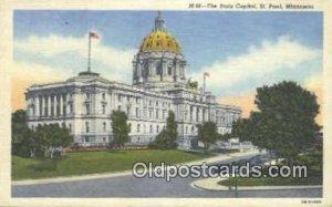 St Paul, Minnesota, MN State Capital USA Unused