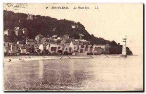 Old Postcard Honfleur Mont Joli