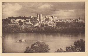 France Avignon Palais des Papes Vue d'ensemble sur la ville