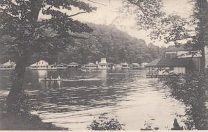 POTTSVILLE, Pennsylvania, PU-1909; Scene along Tumbling Run