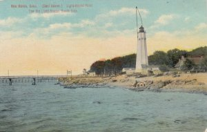 NEW HAVEN , Connecticut, 1900-10s ; LIGHTHOUSE