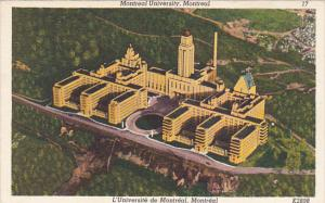 Canada Montreal University Montreal Quebec
