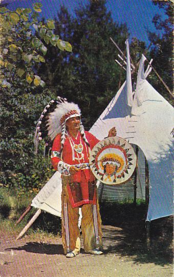 Chippewa Indian Chief Northern Minnesota