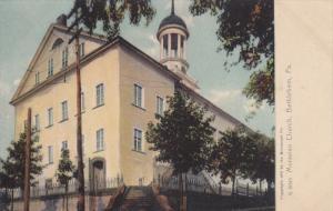 BETHLEHEM, Pennsylvania; Moravian Church, 00-10s