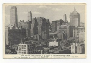 NEW YORK CITY, New York, 1920-30s; View of the City Showing Central & Chanin