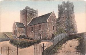 DOVER KENT UK OLD CHURCH & PHAROS~FRITH'S SERIES POSTCARD 1913