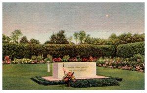 New York Hyde Park Franklin D  Roosevelt Home  Gravestone