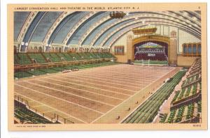 Convention Hall Atlantic City NJ Theater Interior Linen