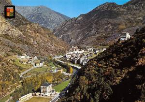 Andorra Sant Julia de Loria Vista general River Panorama