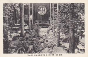 Mountain Brook Through Dining Room Dr Camp's Brookdale Lodge Brookdale Califo...