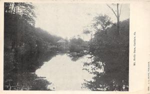 Carlisle Pennsylvania~Mt Holly Springs Dam~Mtn Creek~Cumberland County~c1905 Pc