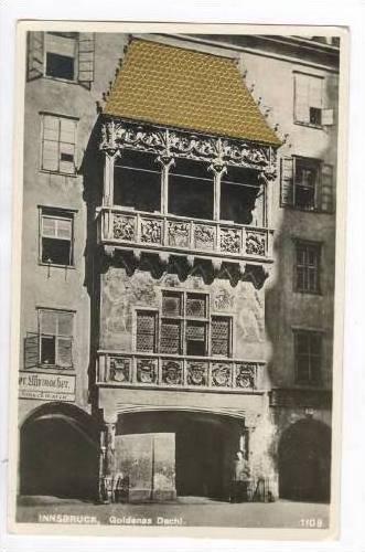 RP, Goldenes Dachl, Innsbruck (Tyrol), Austria, 1920-1940s