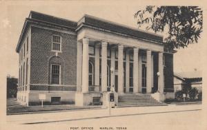 MARLIN, Texas, 1920-30s; Post Office