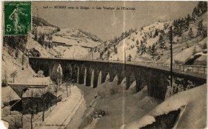 CPA MOREZ sous la neige Les Viaducs de l'Evalude (446964)
