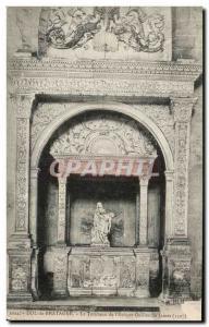 Old Postcard Dol de Bretagne Tomb of L & # 39Eveque William James