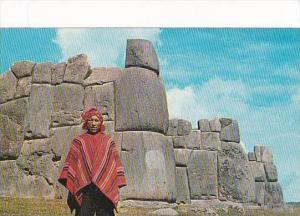 Peru Cuzco Sacsyhuaman Inca Fortress