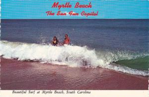 Myrtle Beach , South Carolina , 50-70s ;  Surf