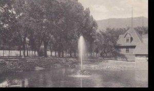 Colorado Glenwood Springs Fountain & Bath House Albertype