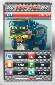 Auto revue race truck 9x6cm trade card TOP ASS A3 GINAFTJG