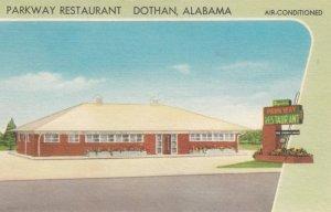 DOTHAN, Alabama, 1930-40s; Parkway Restaurant