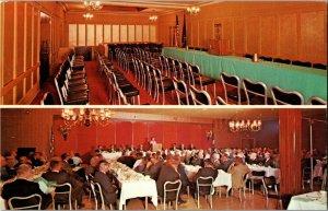 The Bannock Motor Inn, Pocatello ID Banquet, Meeting Rooms Vintage Postcard C54