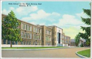 Severne Hall, State School for the Blind, Batavia NY