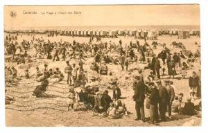 La Plage A l'Heure Des Bains, Ostende (West Flanders), Belgium, PU-1927