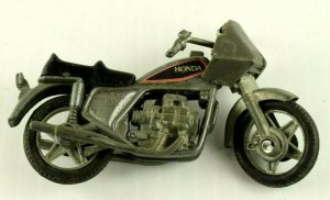 1981 Zima Honda Toy Die Cast Toy Motorcycle Hong Kong