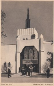 CHICAGO , Illinois 1933 Exposition ; Hall of Religion