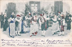 TARANTELLA , Italy , 00-10s ; Folk dances characterized by a fast upbeat tempo
