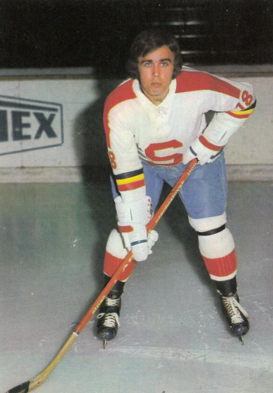 CZECH REPUBLIC ,1970s ; Ice Hockey Player VLADISLAV VLCEK