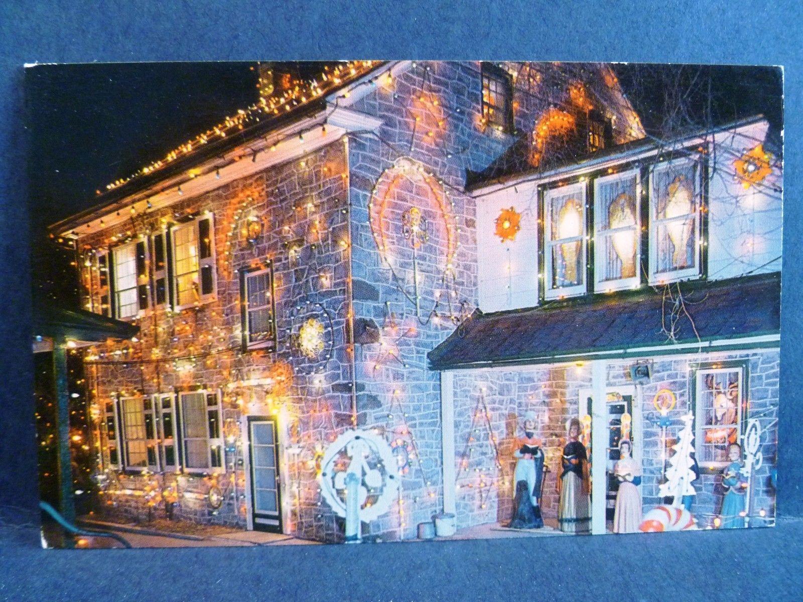 Christmas Village Pa.Postcard Pa Bernville Koziar S Christmas Village Greatest