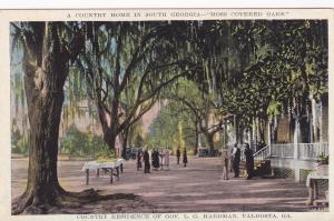 VALDOSTA, Georgia , 10s-20s; Country Residence of Gov. L. G. Hardman